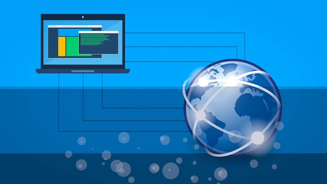 Connexion planétaire reliant les ordinateurs