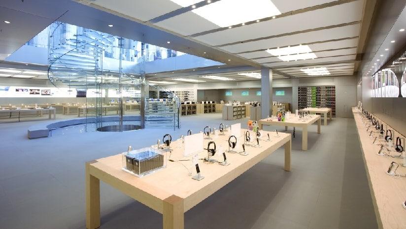 Apple supprime des mesures de sécurité antivol dans certains Apple Store