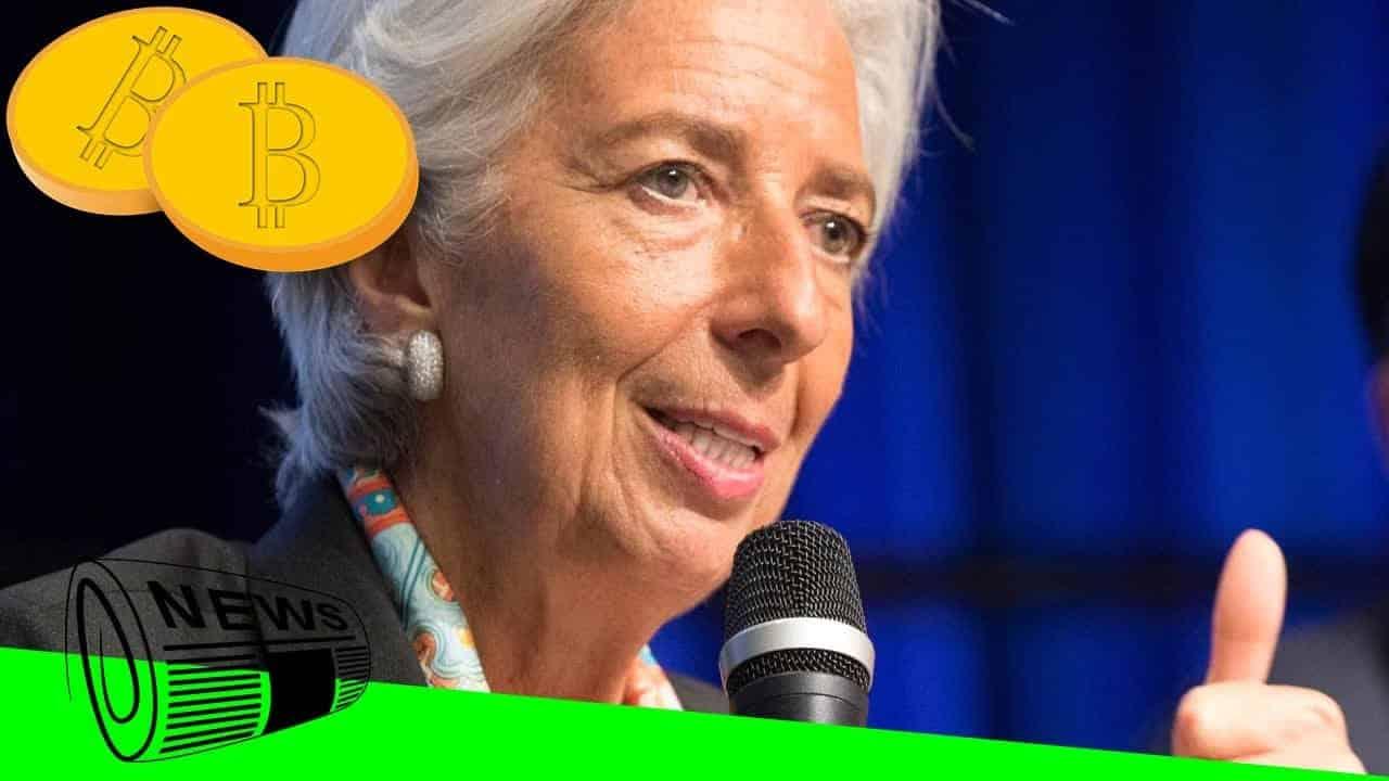 Pour Christine Lagarde, l'avenir monétaire se trouve dans le Bitcoin