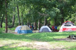 camping et vacance