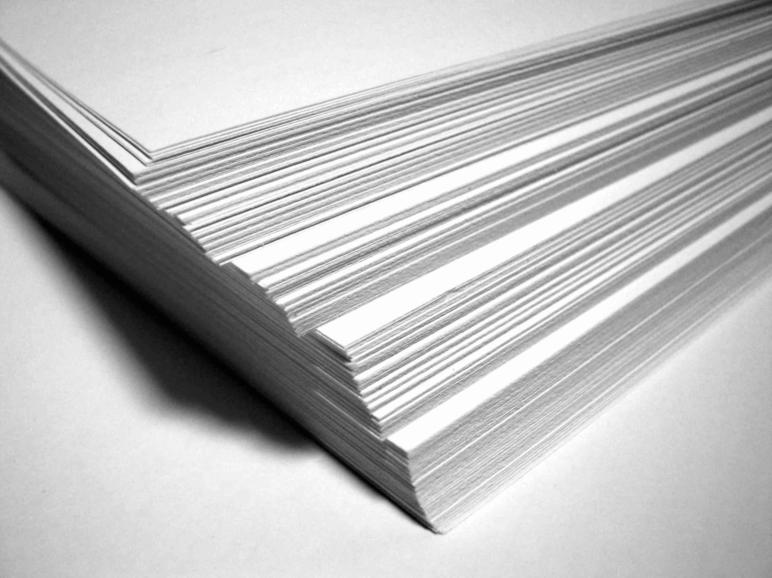 feuille papier