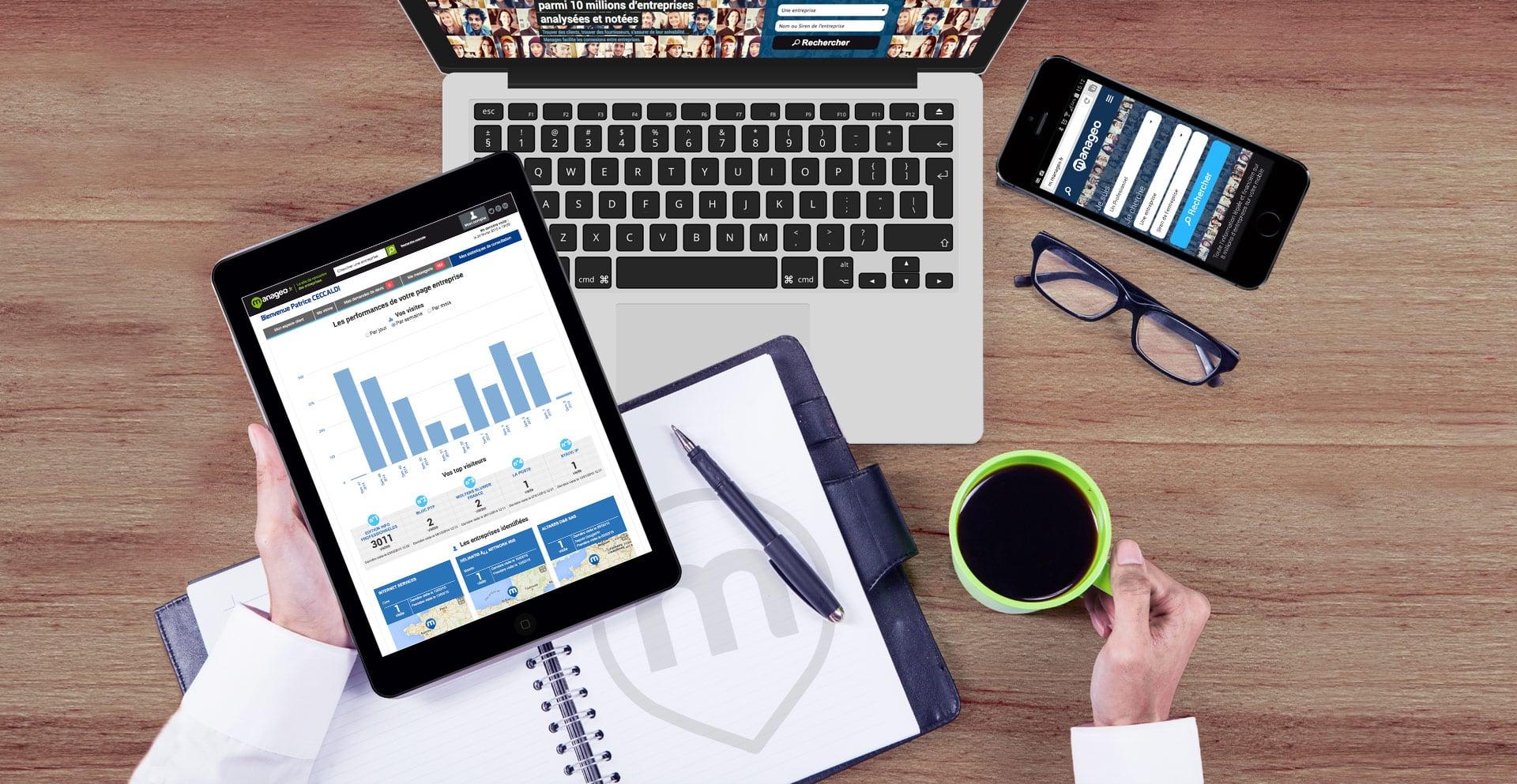 #BtoB : Manageo lance sa nouvelle plateforme de marketing digital