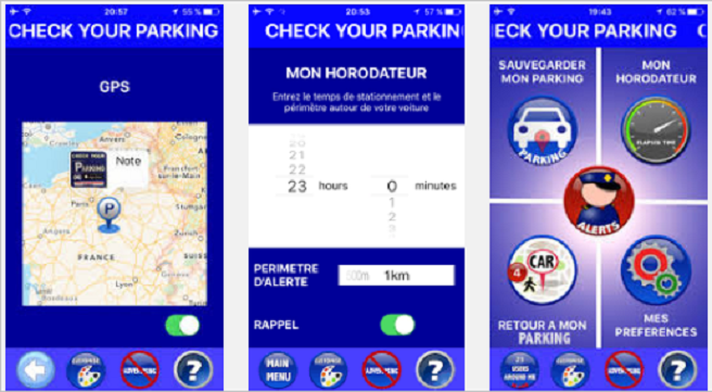 « Check Your Parking », l'application qui vous permet d'éviter les contraventions